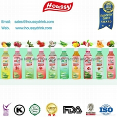 Trustworthy supplier organic aloe vera drink