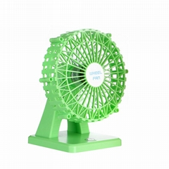 DC5V built-in battery rechargeable mini table cooling fan