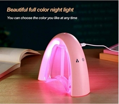 Cute design ultrasonic mini USB message Board LED night Light Air Humidifier