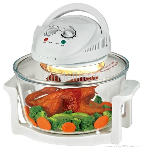 1300W kitchen cooking air fryer chicken Electric Oven Halogen Convection Oven 1