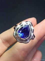 LOT Weddings Jewelry Valentine's Day Gift Heart Rainbow Fire Mystic Topaz Gemsto