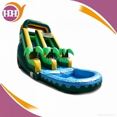 best sell inflatable water slide