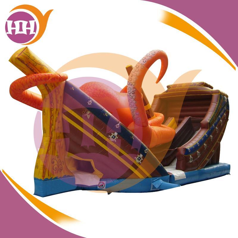Inflatable Kraken Slide: Digital Printing Inflatable Kraken Slide