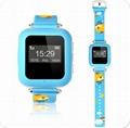 2016 New Kids GPS Tracker hand wrist sos mobile phone smart watch 1
