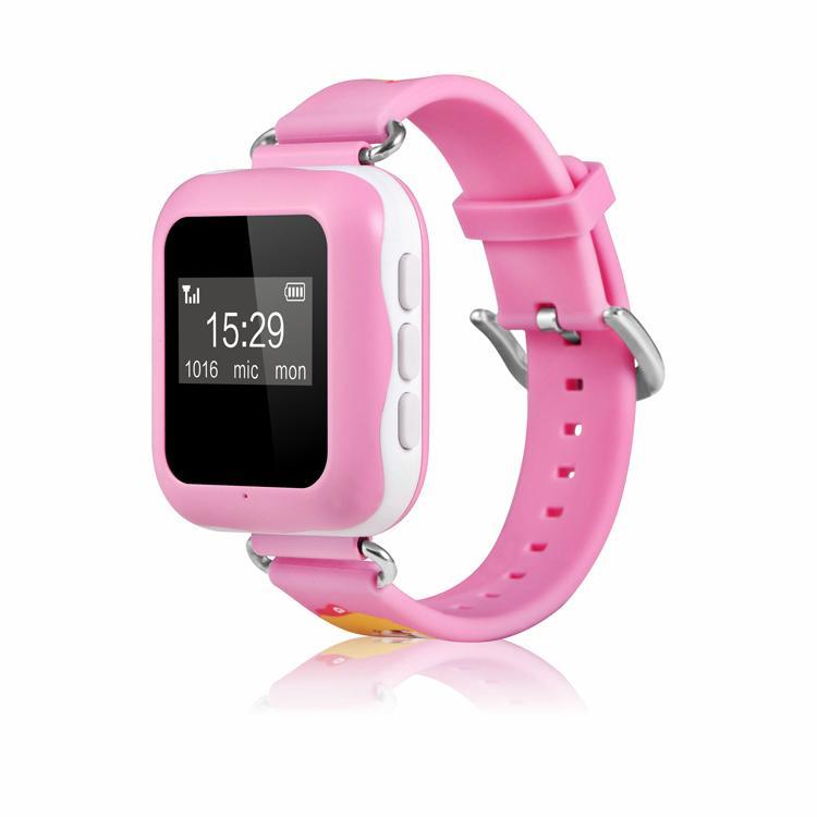 2016 New Kids GPS Tracker hand wrist sos mobile phone smart watch 3