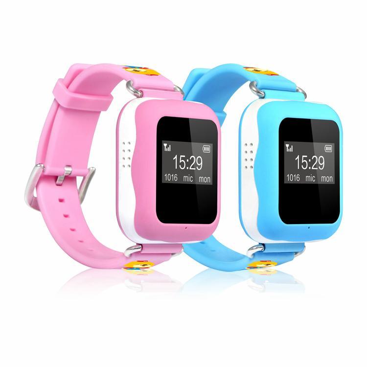 2016 New Kids GPS Tracker hand wrist sos mobile phone smart watch 4