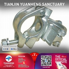 forged scaffolding clamp swivel coupler scaffold right angle coupler