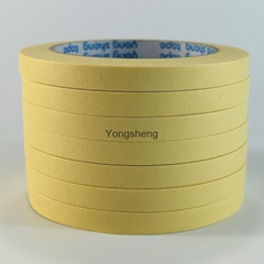 Heat-resistant masking tapes