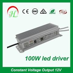 LED strip light constant voltage 12V8.3A 24V4.16A 100W power supply