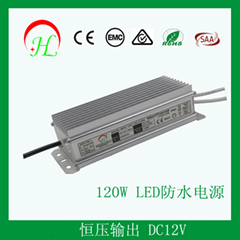 AC230V to DC 12V10A 24V5A 120W waterproof power supply