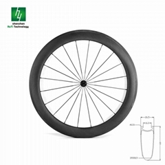 Road bike wheelsets 60mm Clincher Basalt
