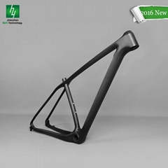 China 29'' Carbon Fiber Mountain Bike Frame 29er MTB Bicycle Carbon Frames