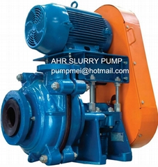 AH series heavy duty pumps for highly abrasive solids handling