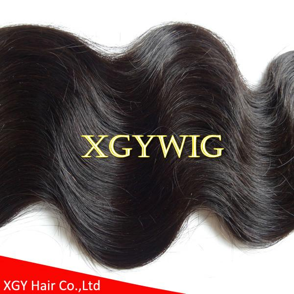 Stock cheap wholesale 100% virgin Remy human hair body wave extension weaving 4