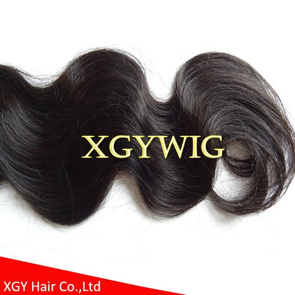 Stock cheap wholesale 100% virgin Remy human hair body wave extension weaving 5