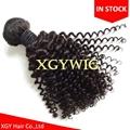 Stock cheap short kinky curly virgin