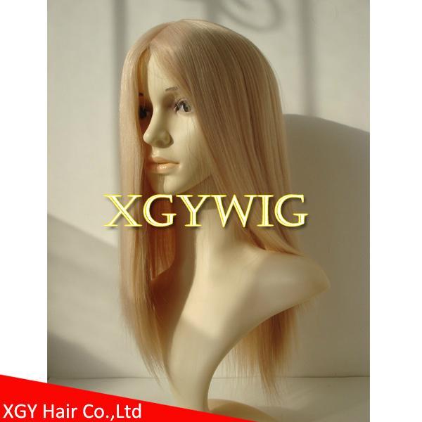 Wholesale 100% virgin European Human Hair Multi-directional Jewish Kosher Wigs 5