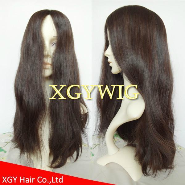 Wholesale 100% virgin European Human Hair Multi-directional Jewish Kosher Wigs 1