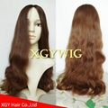Wholesale 100% virgin European Human Hair Multi-directional Jewish Kosher Wigs