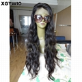 """Stock 8""""-30"""" 100% virgin unprocessed Brazilian Hair Natural Wave Full Lace Wigs 2"""