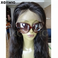 """Stock 8""""-30"""" 100% virgin unprocessed Brazilian Hair Natural Wave Full Lace Wigs"""