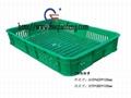 济南临沂青岛塑料周转筐水果蔬菜筐 1