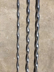 Twisted tube heat exchange