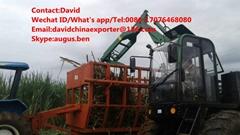 4驱轮式甘蔗装载机
