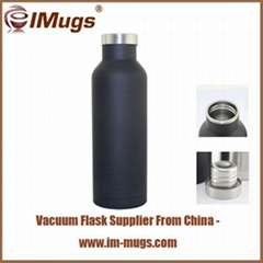 Custom dual-wall vacuum  bottle thermo