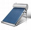 Solar water tank solar system