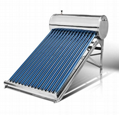 Solar water tank solar system non-pressurized solar water heater solar collector