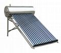 stainless steel pressurized solar hot