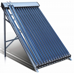 Heat pipe solar collector solar pool