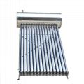 High pressurized solar water heater