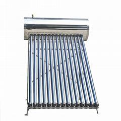 High pressurized solar w