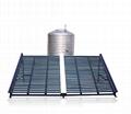 Solar water heater system solar