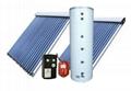 High pressurized split solar water
