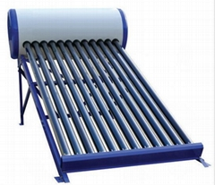 vacuum tube solar water heater with non