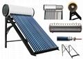High Pressure Solar Hot Water Heater