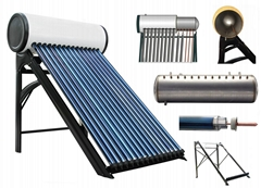 High Pressure Solar Hot Water Heater solar energy system solar collector