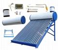 vacuum tube heat pipe solar collector