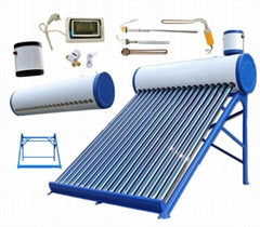 vacuum tube heat pipe solar collector solar water heater