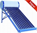 Non-Pressurized Vacuum Tube Solar Energy Hot Water Heater Solar Geyser 1