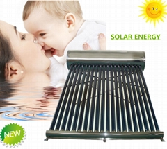 Non-Pressurized Vacuum Tube Solar Water Heating Low Pressure Solar Water heater