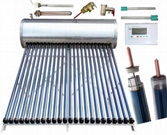 Pressurized Heat Pipe Thermal Solar Water Heater (Solar Heating System)