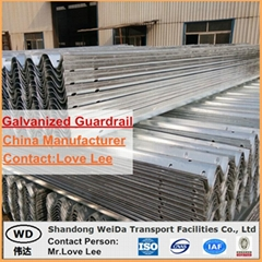 Highway Guardrail for Road