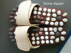 2016 hot selling natural stone slipper