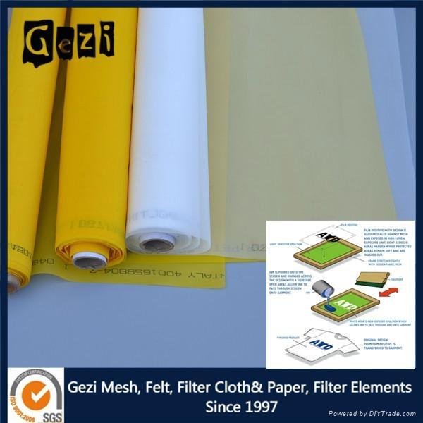 Gezi factory supply Polyester screen printing mesh 4