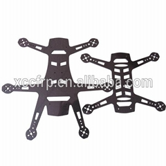 Factory High Quality 3k Carbon Fiber CNC Uavs Helicopters RC Parts