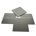 Toray raw material 3K real carbon fiber sheet plate 5mm 6mm